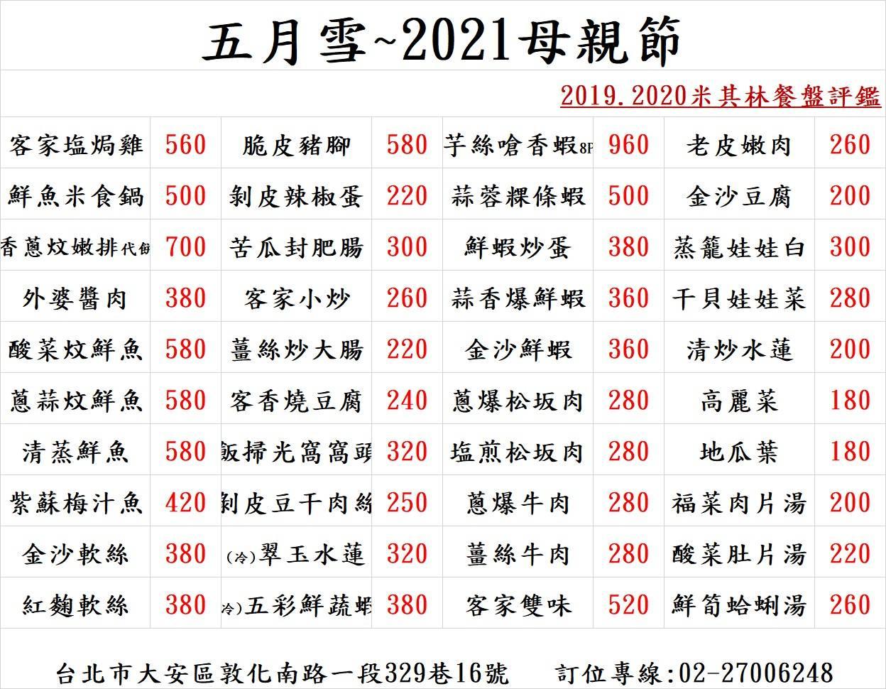 2021母親節單點